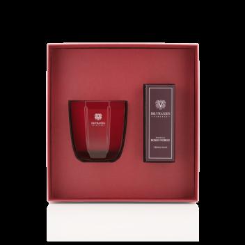 Coffret Rosso Nobile Bougie de 200 g + Crème pour les Mains de 50 ml