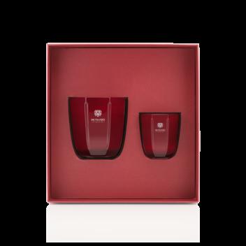Coffret-Cadeau Bougies Rosso Nobile