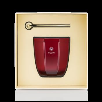 Coffret-Cadeau Bougie Rosso Nobile avec Éteignoir